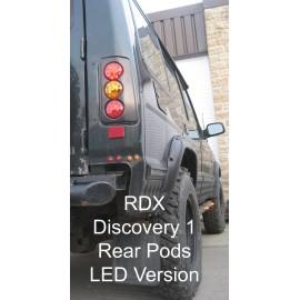 RDX LED lygter